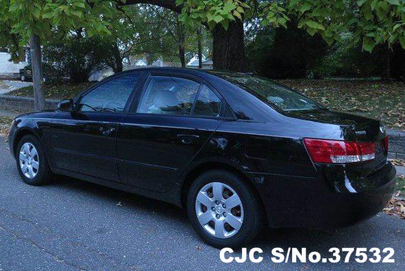 2007 left hand hyundai sonata black for sale stock no 37532 left hand used cars exporter. Black Bedroom Furniture Sets. Home Design Ideas