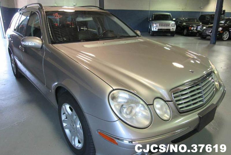 2005 left hand mercedes benz e class silver for sale stock no 37619 left hand used cars. Black Bedroom Furniture Sets. Home Design Ideas