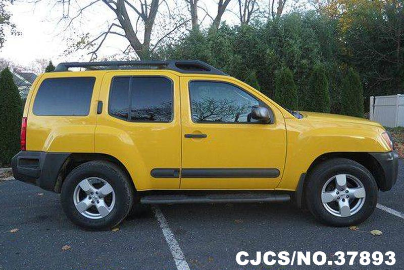 2005 Left Hand Nissan Xterra Yellow For Sale Stock No