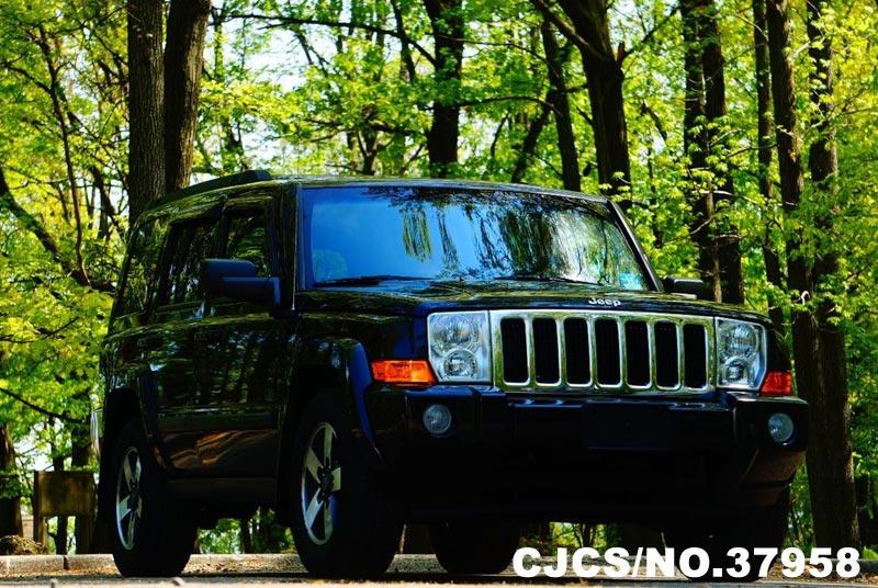 2008 left hand jeep commander black for sale stock no 37958 left hand used cars exporter. Black Bedroom Furniture Sets. Home Design Ideas