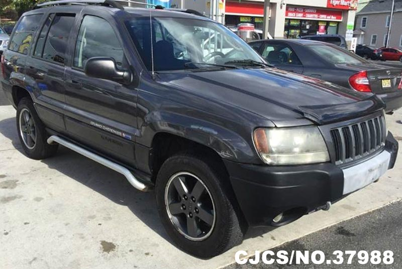2004 left hand jeep grand cherokee gray for sale stock no 37988 left hand used cars exporter. Black Bedroom Furniture Sets. Home Design Ideas