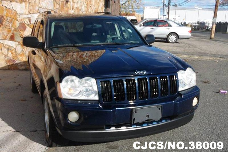 2005 left hand jeep grand cherokee blue for sale stock no 38009 left hand used cars exporter. Black Bedroom Furniture Sets. Home Design Ideas