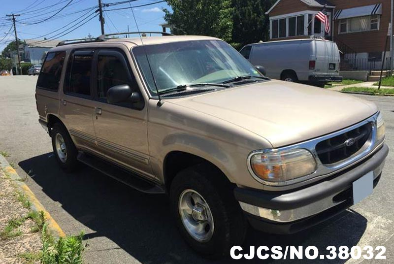 1998 Left Hand Ford Explorer Gold For Sale Stock No