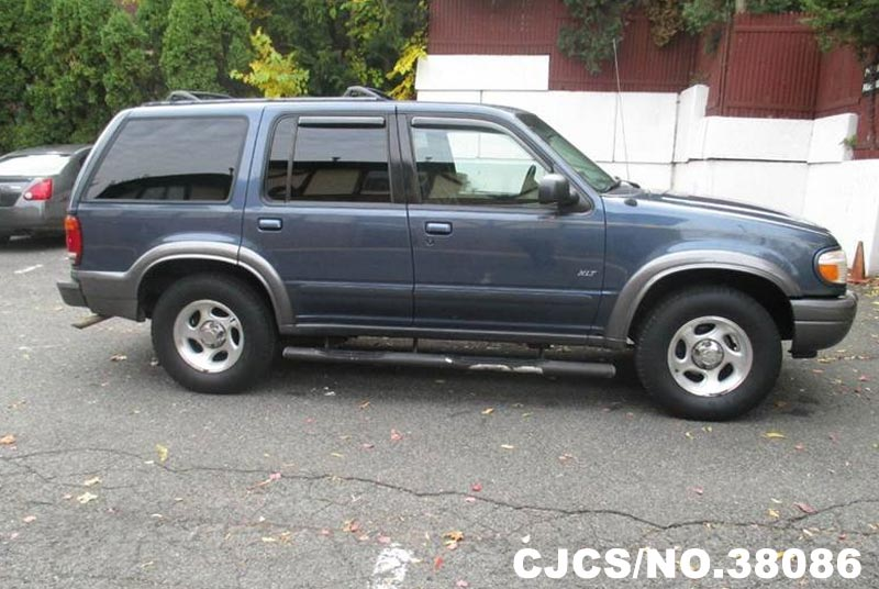 2000 left hand ford explorer blue for sale stock no 38086 left hand used cars exporter. Black Bedroom Furniture Sets. Home Design Ideas
