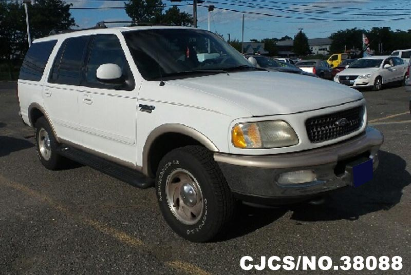 1998 left hand ford expedition white for sale stock no 38088 left hand used cars exporter. Black Bedroom Furniture Sets. Home Design Ideas