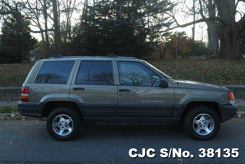 1996 left hand jeep grand cherokee gold 2 tone for sale stock no 38135 left hand used cars. Black Bedroom Furniture Sets. Home Design Ideas
