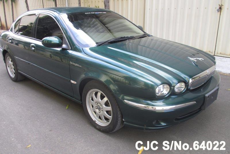 Green Jaguar X-Type for Diplomats