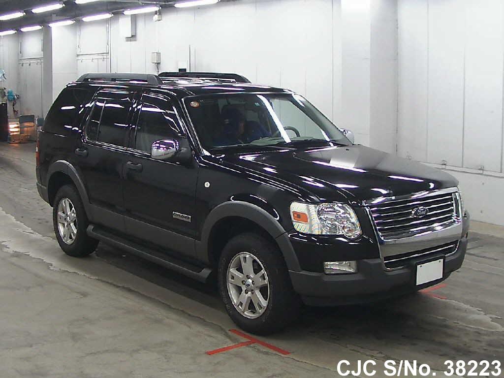 2006 ford explorer black for sale stock no 38223 japanese used cars exporter. Black Bedroom Furniture Sets. Home Design Ideas