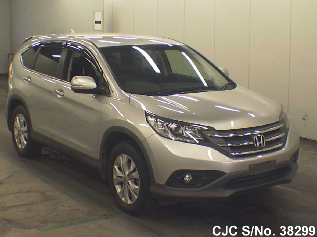 2012 honda crv silver for sale stock no 38299 japanese used cars exporter. Black Bedroom Furniture Sets. Home Design Ideas