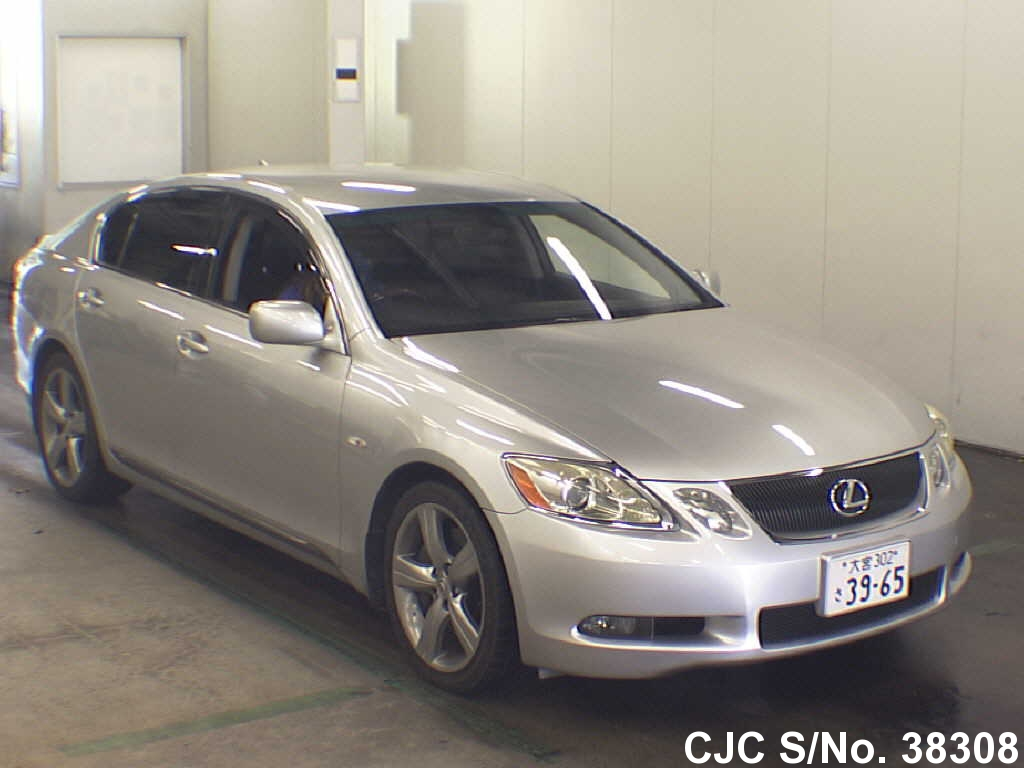 2005 lexus gs430 silver for sale stock no 38308. Black Bedroom Furniture Sets. Home Design Ideas