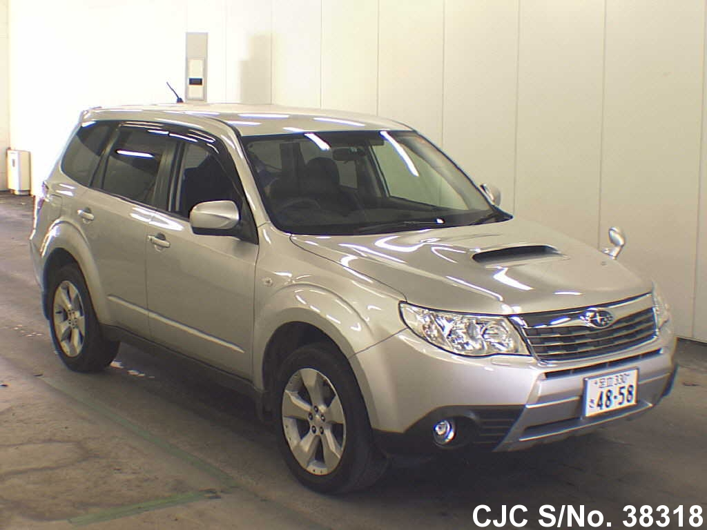 2010 subaru forester silver for sale stock no 38318 japanese used cars exporter. Black Bedroom Furniture Sets. Home Design Ideas