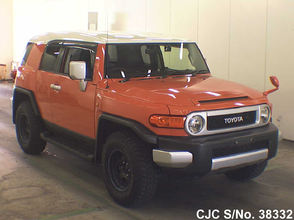 2012 toyota fj cruiser orange for sale stock no 38332. Black Bedroom Furniture Sets. Home Design Ideas