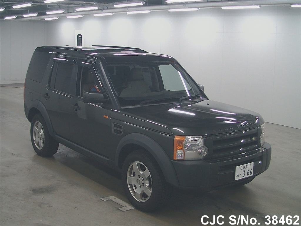 2005 land rover discovery black for sale stock no 38462 japanese used cars exporter. Black Bedroom Furniture Sets. Home Design Ideas