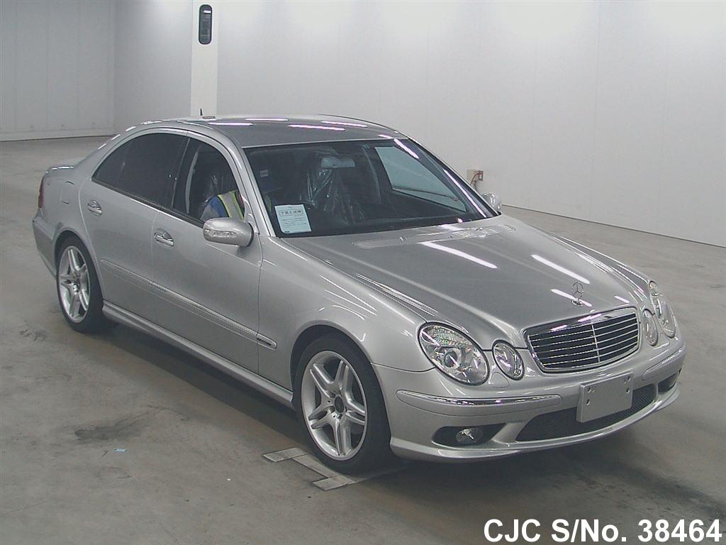 2002 mercedes benz e class silver for sale stock no for Mercedes benz 2002 e class