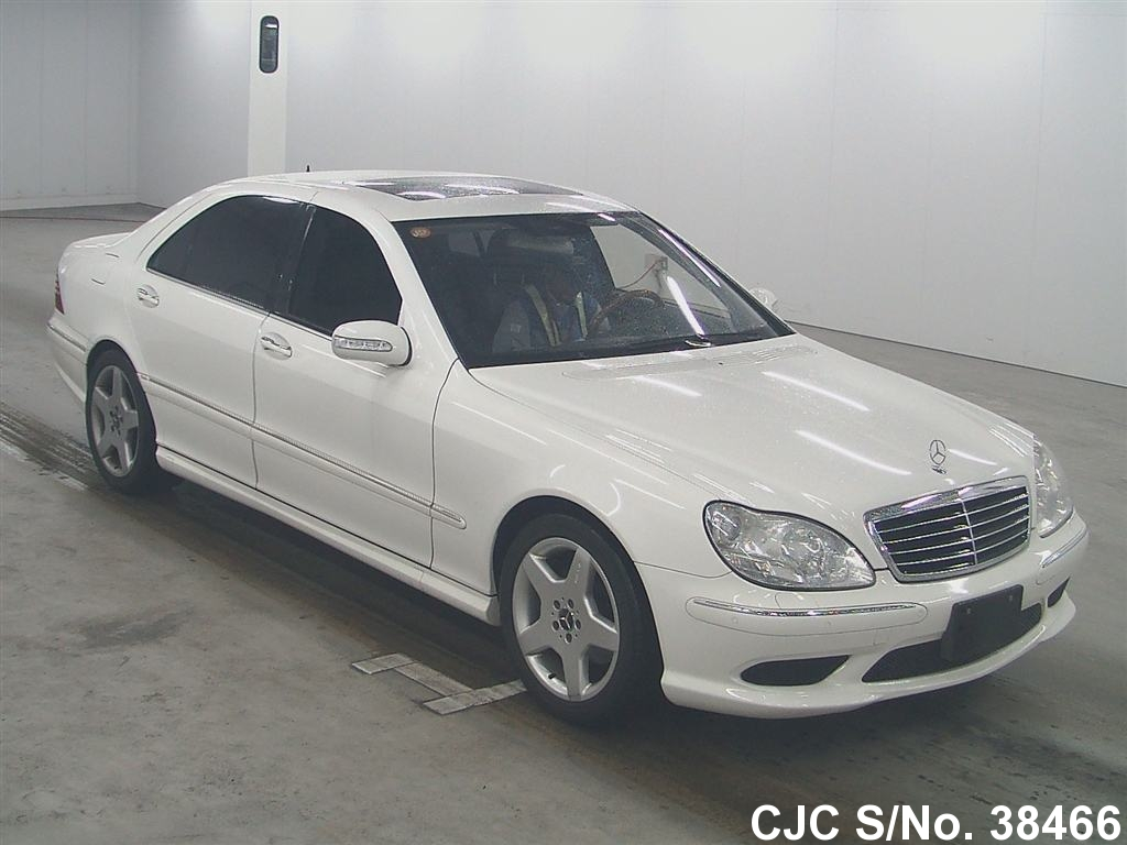 2006 left hand mercedes benz s class white for sale for White s550 mercedes benz for sale