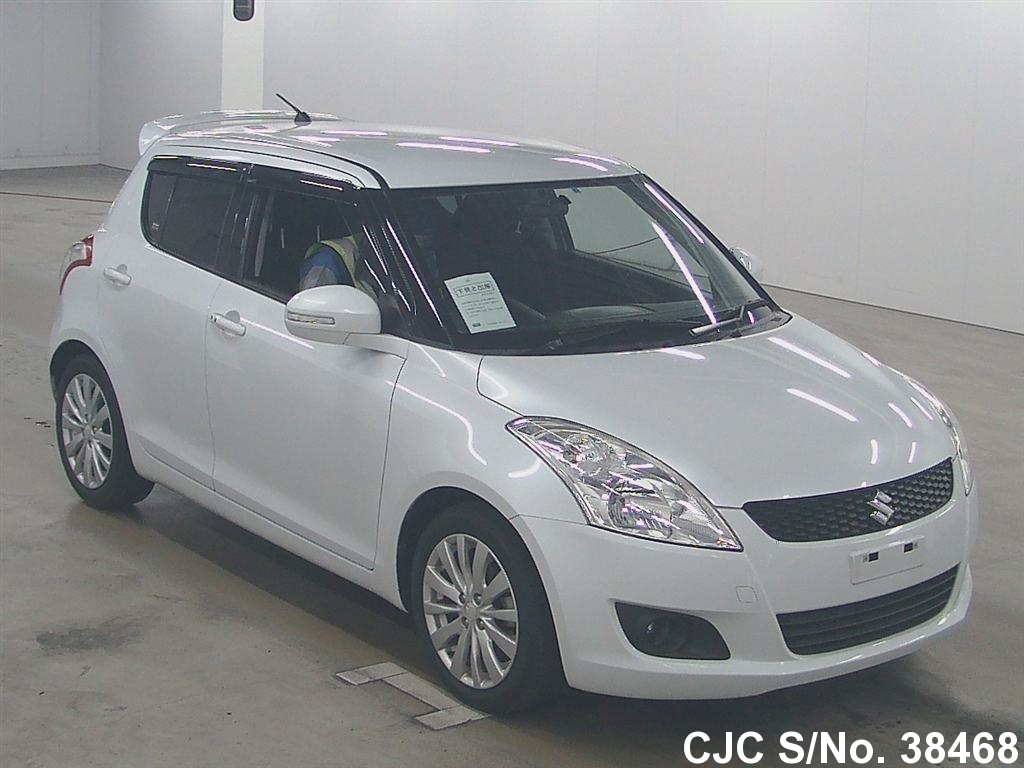2010 suzuki swift white for sale stock no 38468. Black Bedroom Furniture Sets. Home Design Ideas