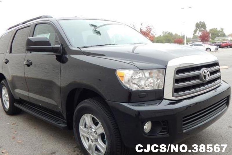 brand new 2016 left hand toyota sequoia black for sale stock no 38567 left hand used cars. Black Bedroom Furniture Sets. Home Design Ideas