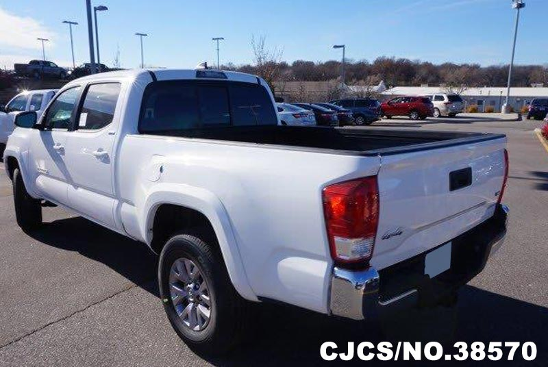 brand new 2016 left hand toyota tacoma white for sale stock no 38570 left hand used cars. Black Bedroom Furniture Sets. Home Design Ideas