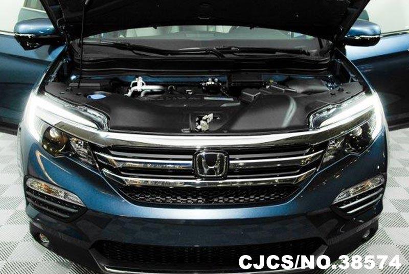 2016 Left Hand Honda Pilot Steel Blue Metallic For Sale Stock No 38574 Left Hand Used Cars