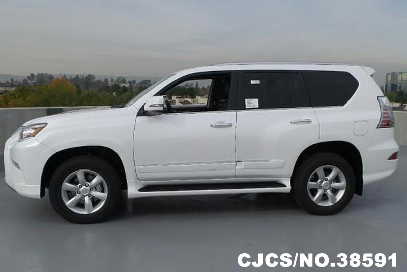 brand new 2016 left hand lexus gx 460 white for sale stock no 38591 left hand used cars. Black Bedroom Furniture Sets. Home Design Ideas