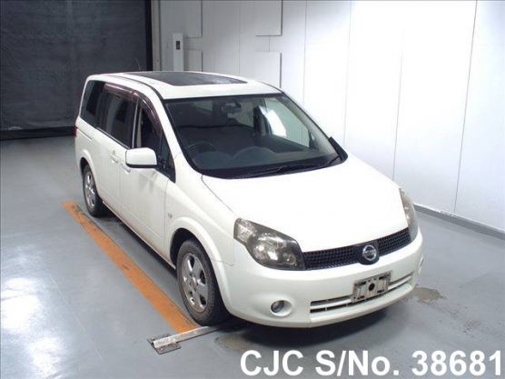 2005 Nissan Lafesta Pearl For Sale Stock No 38681 Japanese Used