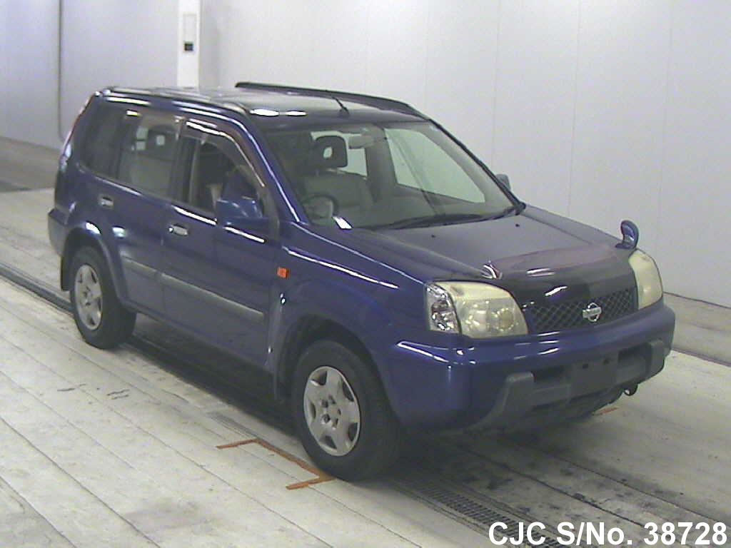 2000 nissan x trail blue for sale stock no 38728 japanese used cars exporter. Black Bedroom Furniture Sets. Home Design Ideas