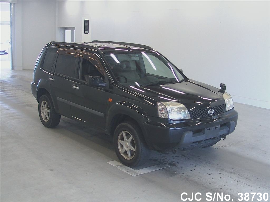 2003 nissan x trail black for sale stock no 38730 japanese used cars exporter. Black Bedroom Furniture Sets. Home Design Ideas