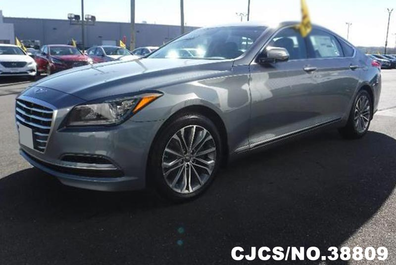 brand new 2016 left hand hyundai genesis gray for sale stock no 38809 left hand used cars. Black Bedroom Furniture Sets. Home Design Ideas