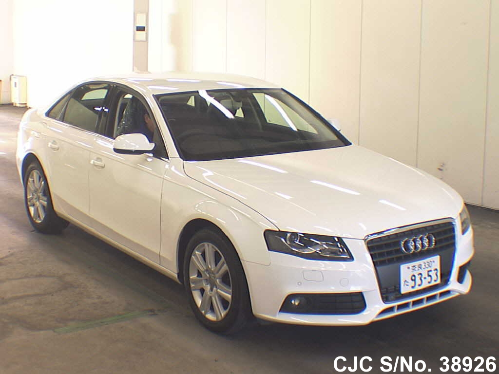 2011 audi a4 white for sale stock no 38926 japanese used cars exporter. Black Bedroom Furniture Sets. Home Design Ideas