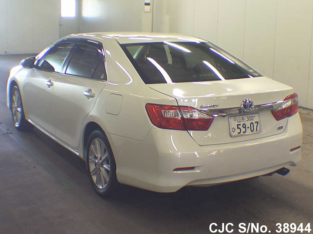 2011 toyota camry pearl for sale stock no 38944 japanese used cars exporter. Black Bedroom Furniture Sets. Home Design Ideas