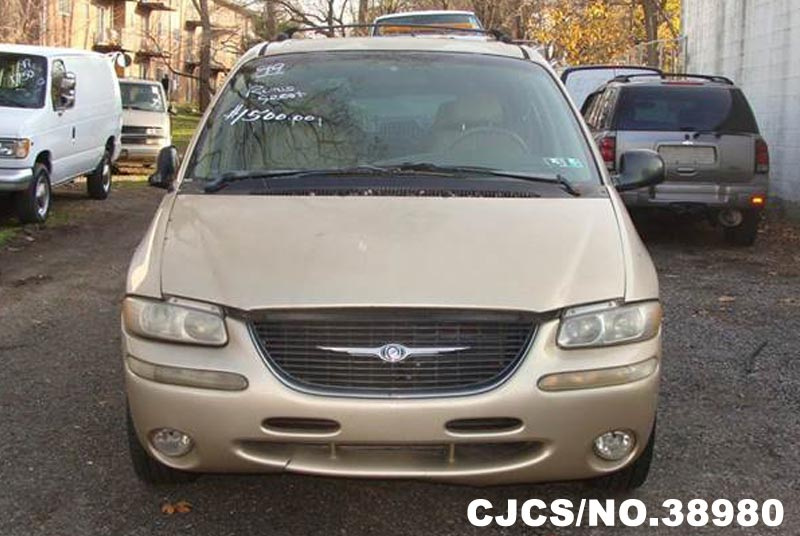 1999 left hand chrysler town country gold for sale stock no 38980 left hand used cars. Black Bedroom Furniture Sets. Home Design Ideas