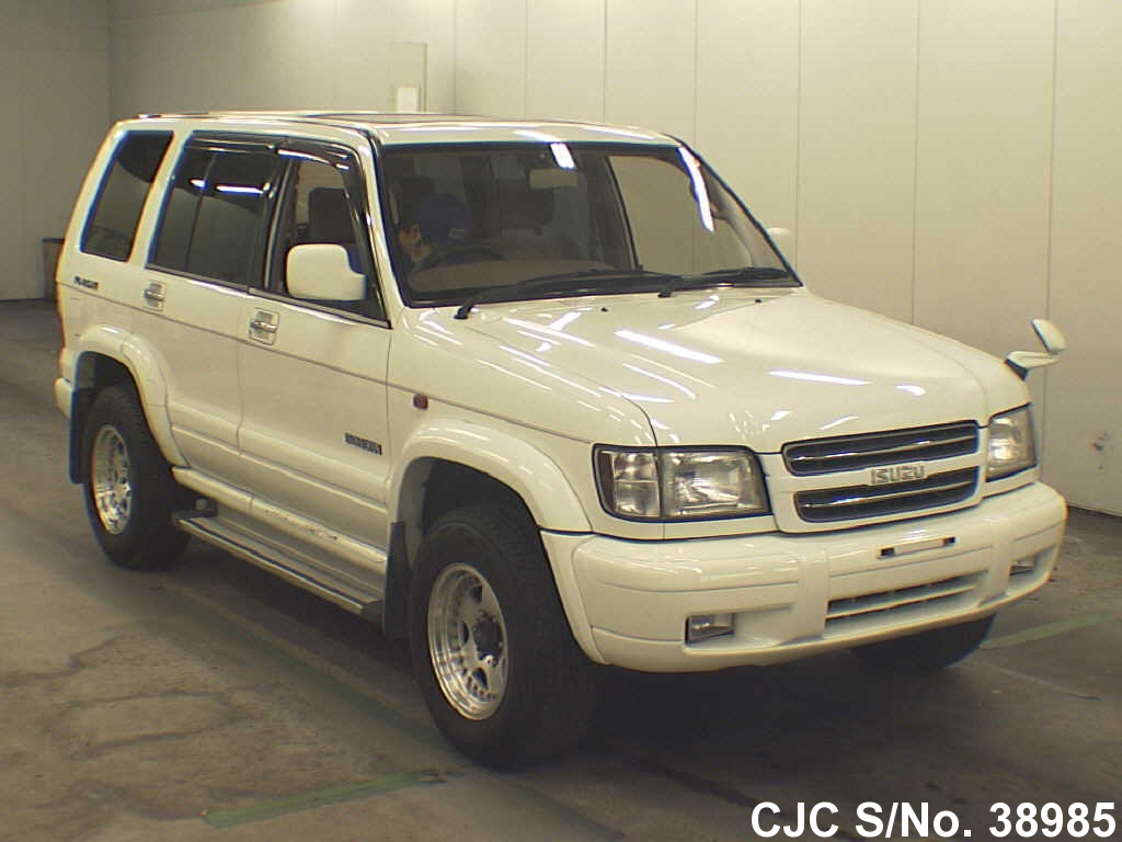 2000 Isuzu Bighorn/ Trooper White for sale   Stock No  38985