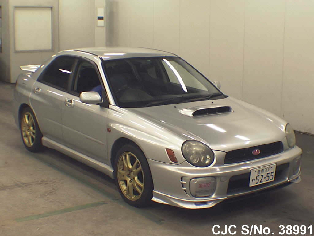 2000 subaru impreza silver for sale stock no 38991 japanese used cars exporter. Black Bedroom Furniture Sets. Home Design Ideas