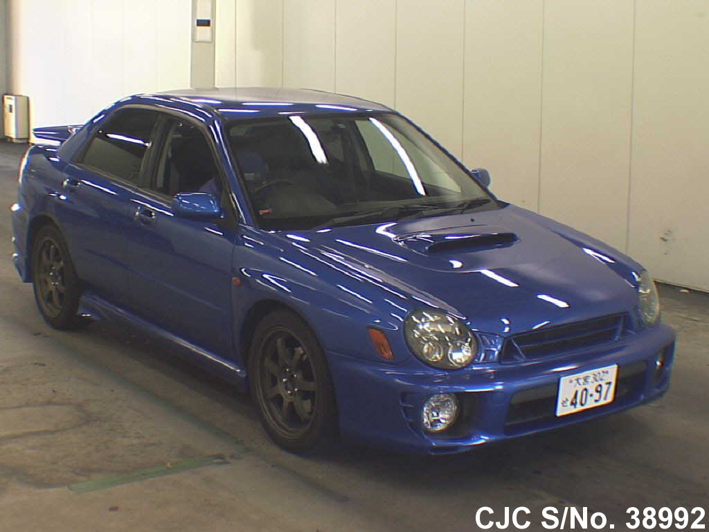 2000 subaru impreza blue for sale stock no 38992 japanese used cars exporter. Black Bedroom Furniture Sets. Home Design Ideas