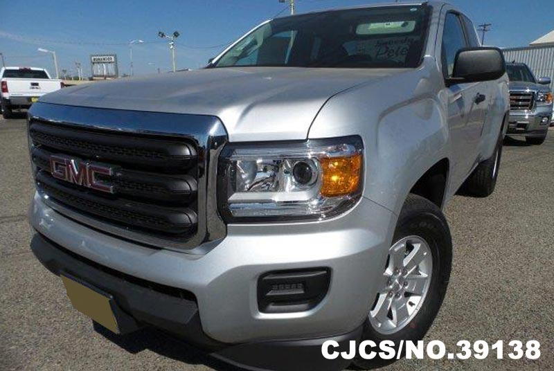2016 left hand gmc canyon silver metallic for sale stock no 39138 left hand used cars exporter. Black Bedroom Furniture Sets. Home Design Ideas