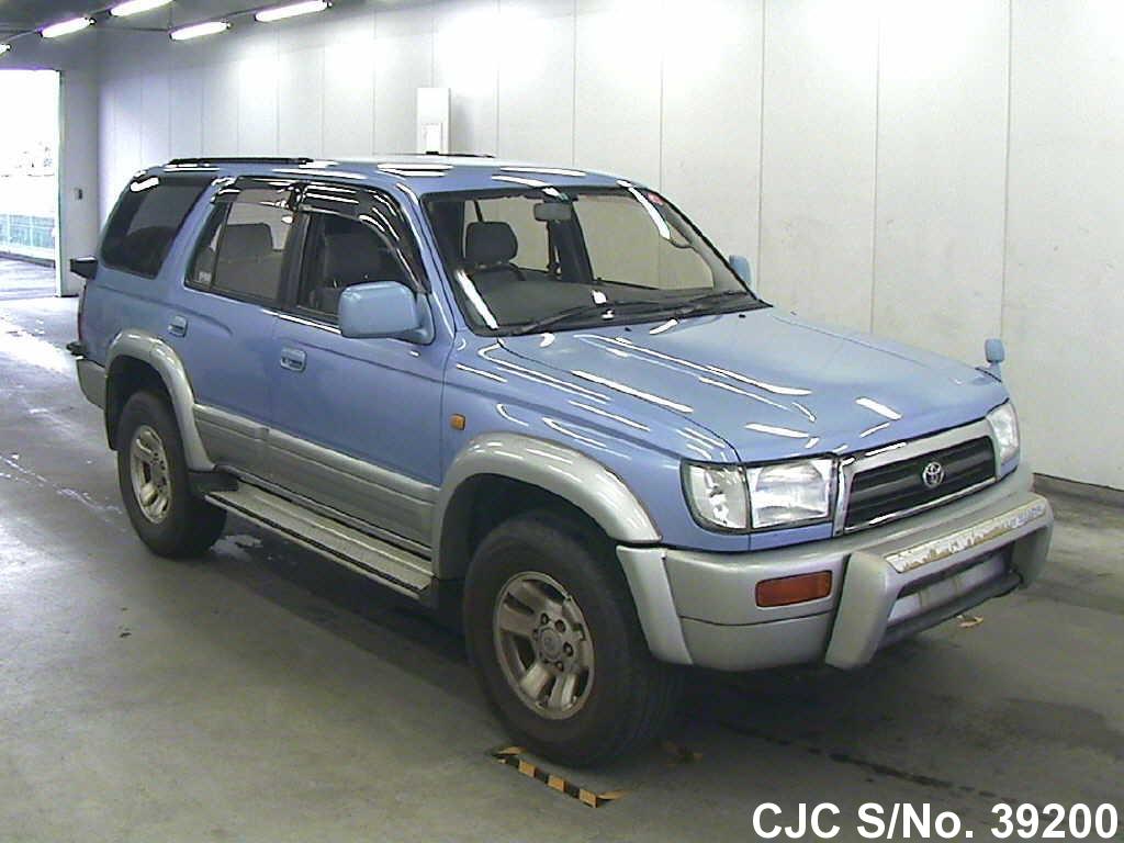 1996 toyota hilux surf 4runner blue for sale stock no 39200 japanese used cars exporter. Black Bedroom Furniture Sets. Home Design Ideas