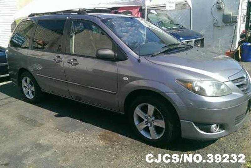 2004 Left Hand Mazda Mpv Silver For Sale Stock No 39232 Left