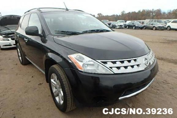 2006 Left Hand Nissan Murano Black for sale