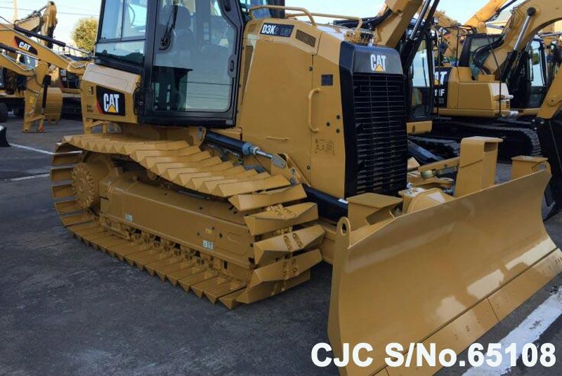 Brand New Caterpillar D3k 2 Bulldozer For Sale 2015 Model Cjc 65108 Japanese Used Machinery Online