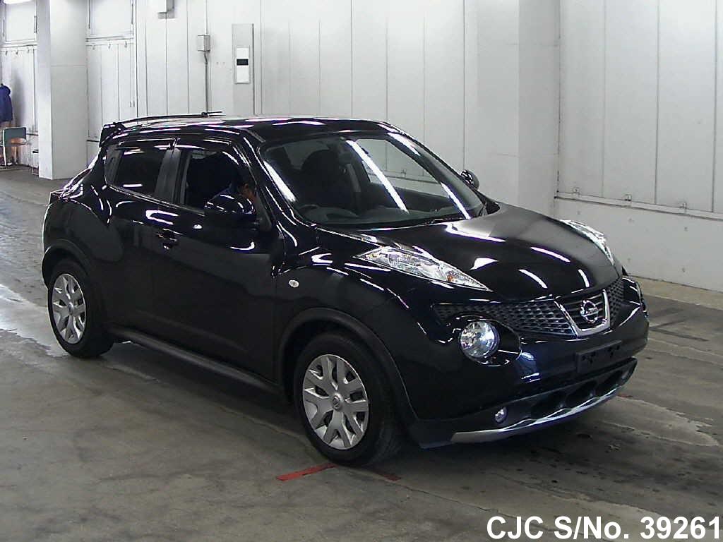 2010 nissan juke black for sale stock no 39261 japanese used cars exporter. Black Bedroom Furniture Sets. Home Design Ideas