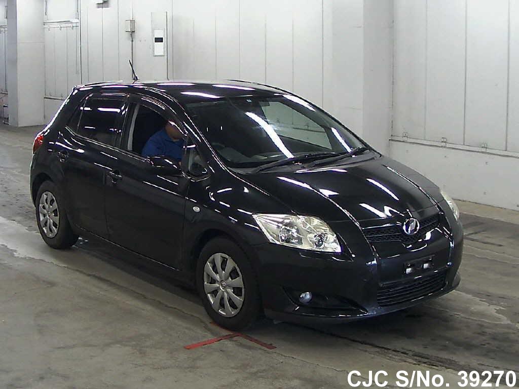 2007 toyota auris black for sale stock no 39270 japanese used cars exporter. Black Bedroom Furniture Sets. Home Design Ideas
