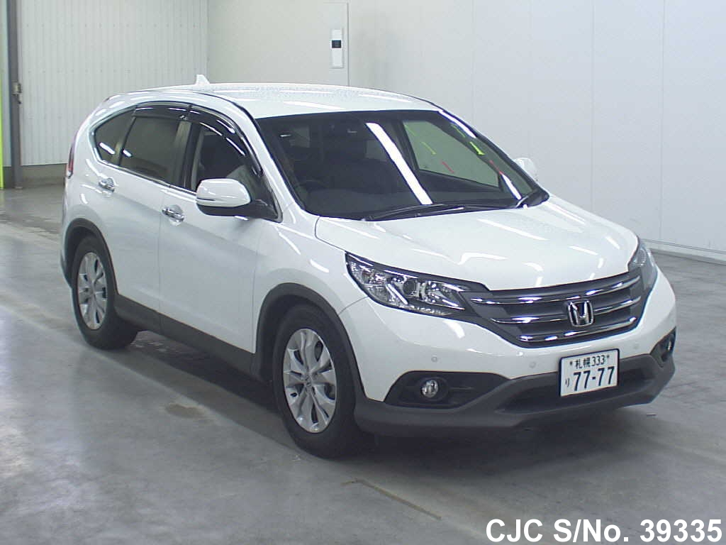2012 honda crv pearl for sale stock no 39335 japanese used cars exporter. Black Bedroom Furniture Sets. Home Design Ideas