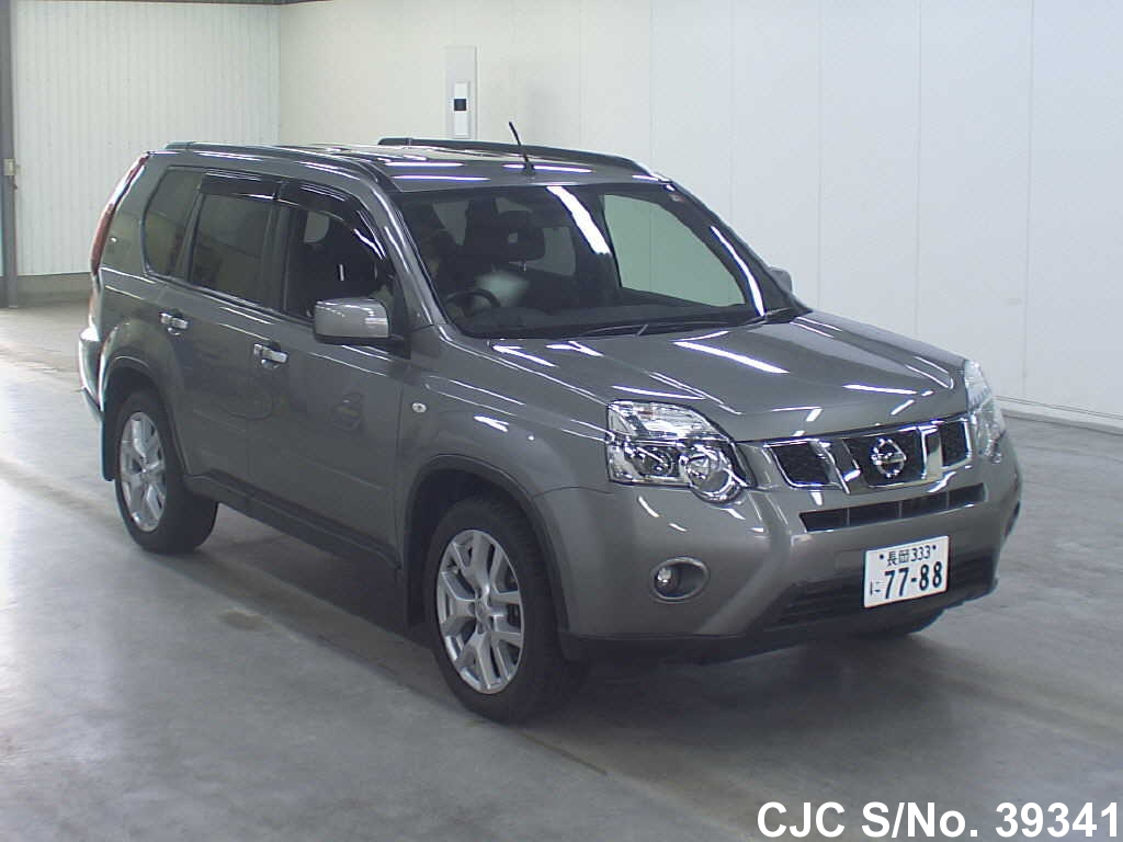 2010 nissan x trail gray for sale stock no 39341. Black Bedroom Furniture Sets. Home Design Ideas
