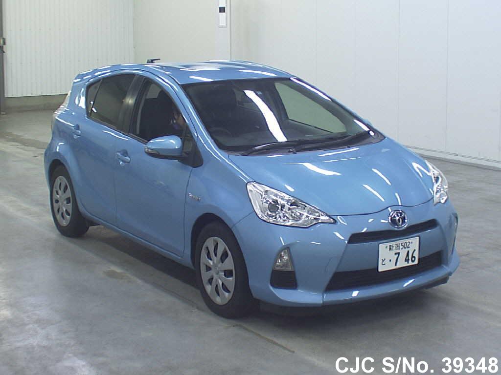 2012 Toyota / Aqua Stock No. 39348