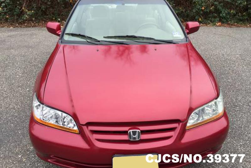 2002 Left Hand Honda Accord Red For Sale Stock No 39377