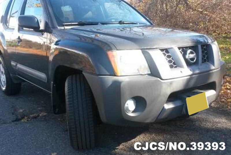 2006 left hand nissan xterra gray for sale stock no 39393 left hand used cars exporter. Black Bedroom Furniture Sets. Home Design Ideas