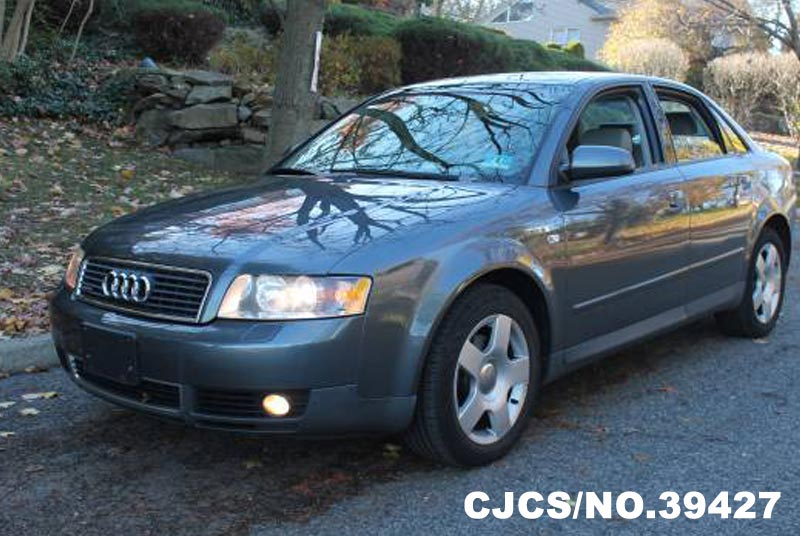 2003 left hand audi a4 gray for sale stock no 39427 left hand used cars exporter. Black Bedroom Furniture Sets. Home Design Ideas
