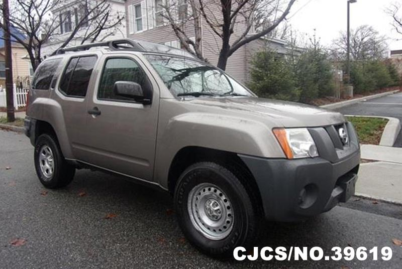 2008 Left Hand Nissan Xterra Silver For Sale Stock No