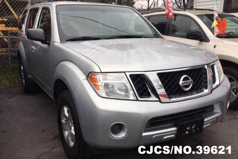 2008 Left Hand Nissan Pathfinder Gray For Sale Stock No