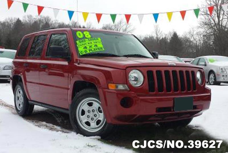 2008 left hand jeep patriot sport red for sale stock no. Black Bedroom Furniture Sets. Home Design Ideas